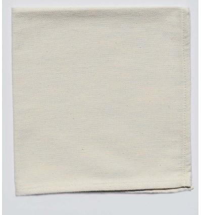Mini serviette couleur écru mélangé