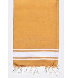 Mini toalla plana mostaza
