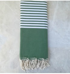 toalla de playa grande verde medio