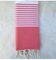 toalla de playa grande Magenta