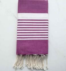 toalla de playa arturo Púrpura rojizo