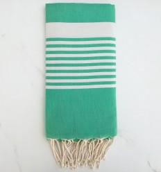 toalla de playa arturo Verde ceniza