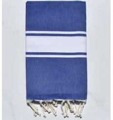 toalla de playa blue jeans con rayas