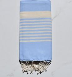 toalla de playa arturo azul cielo