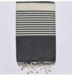 Fouta tendencia, tejido a mano y lavable a máquina. Se utiliza en múltiples formas