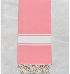 Toalla de playa Gigante rosa encarnación claro