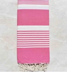 Toalla de playa Gigante rosa caramelo