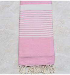 Toalla de playa gigante rosa claro 2m/3m