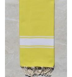 Toalla de playa gigante amarillo canario 2m*2m