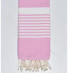 Toalla de playa Arturo rosa dulce claro