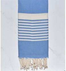 Toalla de playa Arturo francia azul