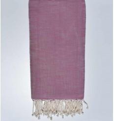 cubre cama flameado rosa vieja 270*200