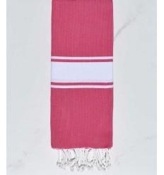 toalla de playa para niños fushia magenta
