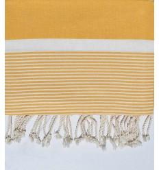 cubre cama promedio 1.5*2.5m oro amarillo