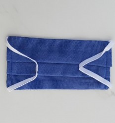 Mascarilla protectora azul