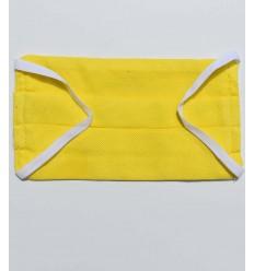 Mascarilla protectora amarillo