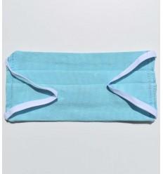 Mascarilla protectora azul azurina